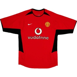 2002-04 Manchester United Home Shirt (Good) XL