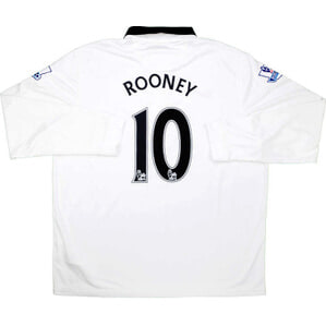 2014-15 Manchester United Away L/S Shirt Rooney #10 *w/Tags* XXL