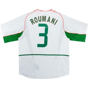 2004 Morocco Match Issue Africa Cup of Nations Away Shirt Roumani #3 (v Nigeria)