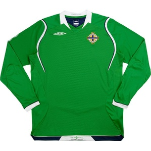 2008-10 Northern Ireland Home L/S Shirt (Excellent) M