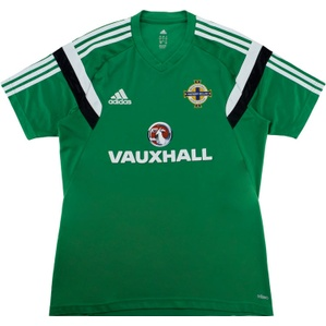 2014 Northern Ireland Adidas Training Shirt (Excellent) L