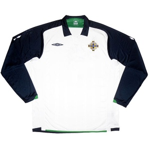 2009-10 Northern Ireland Away Shirt (Excellent) L