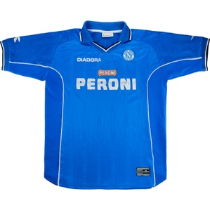 2000-01 Napoli Home Shirt (Fair) XL