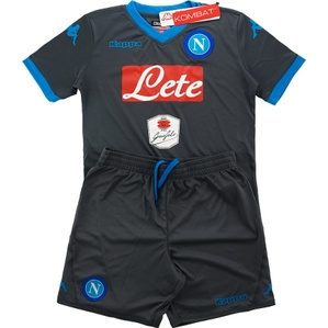 2015-16 Napoli Away Shirts & Shorts Kit *BNIB* M.Boys
