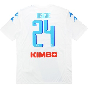 2016-17 Napoli Away Shirt Insigne #24 *w/Tags*