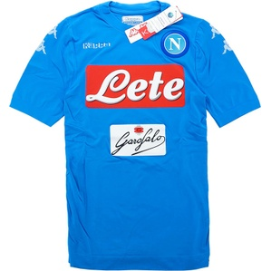 2016-17 Napoli Authentic Home Shirt *w/Tags* M/L