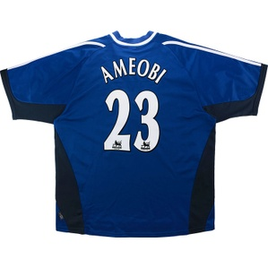 2001-02 Newcastle Away Shirt Ameobi #23 (Excellent) XXL