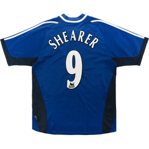 2001-02 Newcastle Away Shirt Shearer #9 (Excellent) M