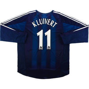 2004-05 Newcastle Away L/S Shirt Kluivert #11 (Excellent) XXL
