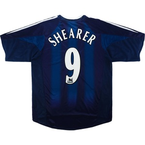 2004-05 Newcastle Away Shirt Shearer #9 (Excellent) M