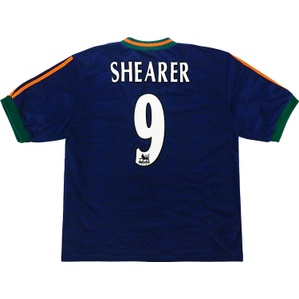1997-98 Newcastle Away Shirt Shearer #9 (Excellent) XXL