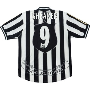 1997-99 Newcastle Home Shirt Shearer #9 (Very Good) L