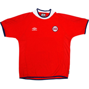 2000-02 Norway Home Shirt (Excellent) L