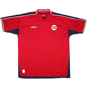2003-04 Norway Home Shirt (Excellent) XL