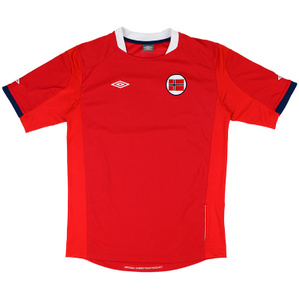 2011-12 Norway Home Shirt (Excellent) M