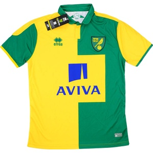 2015-16 Norwich Home Shirt *w/Tags*