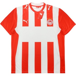 2008-09 Olympiakos Home Basic Shirt *w/Tags*