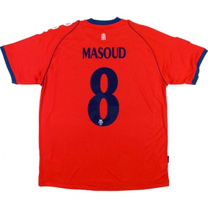 2012-13 Osasuna Home Shirt Masoud #8 *w/Tags*
