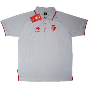 2012-13 Osasuna Astore Grey Polo Shirt *BNIB* S