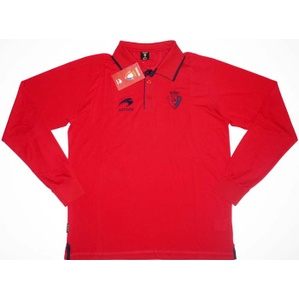 2012-13 Osasuna Astore Red Polo L/S Shirt *BNIB*