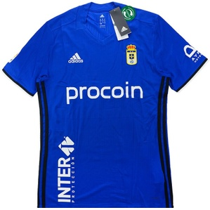 2016-17 Real Oviedo Home Shirt *BNIB*