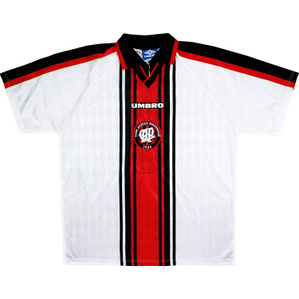 1999 Atletico Paranaense Away Shirt #9 (Excellent) XL