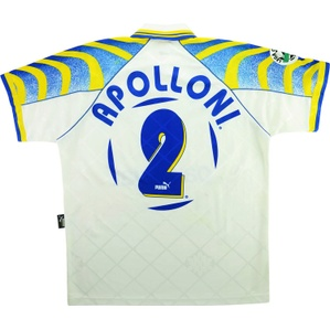 1996-97 Parma Match Issue Home Shirt Apolloni #2