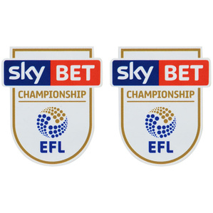 2016-18 SkyBet EFL Championship Player Issue Patch (Pair)