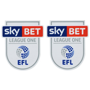 2016-18 SkyBet EFL League One PRO S Player Issue Patch (Pair)