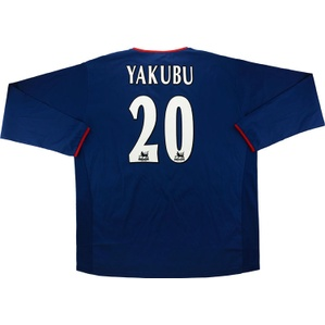 2003-05 Portsmouth Away L/S Shirt Yakubu #20 *w/Tags* XXL