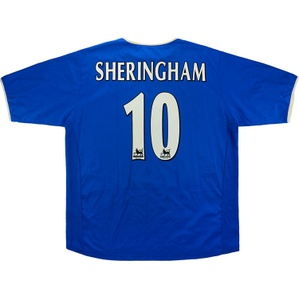 2003-05 Portsmouth Home Shirt Sheringham #10 *Mint* XL