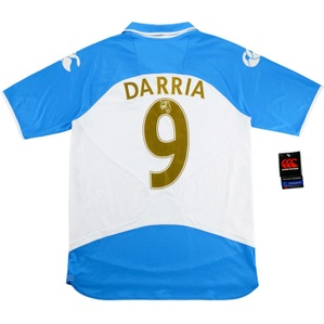 2008-09 Portsmouth '110 Years' Away Shirt Darria #9 *w/Tags* M