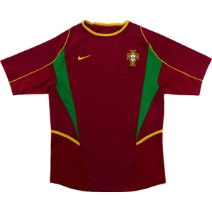 2002-04 Portugal Home Shirt (Good) L