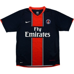 2007-08 Paris Saint-Germain Home Shirt (Good) XL