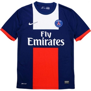 2013-14 Paris Saint-Germain Home Shirt (Excellent) XL