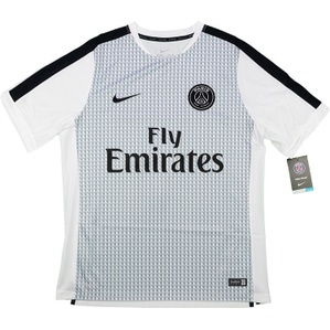 2014-15 Paris Saint-Germain Nike Pre-Match Trainng Shirt *BNIB* S