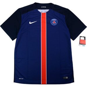 2015-16 Paris Saint-Germain Home Shirt *w/Tags* L
