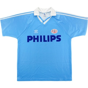 1991-92 PSV Match Issue Away Shirt #11 (van Tiggelen)