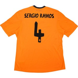 2013-14 Real Madrid Third Shirt Sergio Ramos #4 *w/Tags* XL