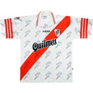 1996-98 River Plate Home Shirt (Very Good) L