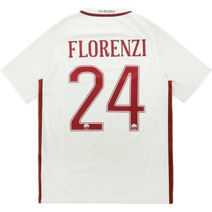 2016-17 Roma Away Shirt Florenzi #24 *w/Tags*