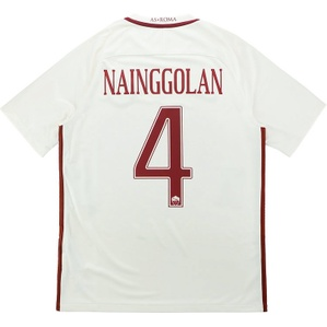 2016-17 Roma Away Shirt Nainggolan #4 *w/Tags*