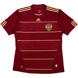 2009-11 Russia Home Shirt (Very Good) XL