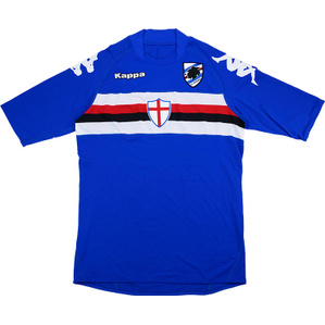 2007-08 Sampdoria Home Shirt (Very Good) XL