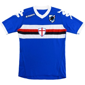 2010-11 Sampdoria Home Shirt (Excellent) XS