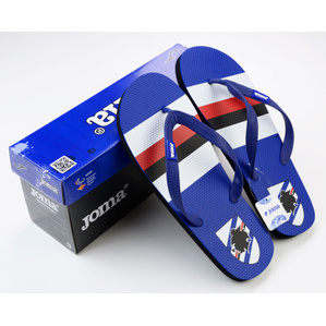 2015-16 Sampdoria Joma Flip Flops *In Box*