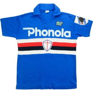 1983-85 Sampdoria Home Shirt (Very Good) XS