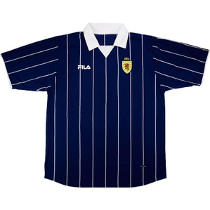 2002-03 Scotland Home Shirt (Good) L