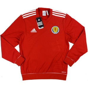 2011-13 Scotland Player Issue Training Sweat Top *w/Tags* S