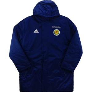 2015-16 Scotland Player Issue Padded Jacket *As New*